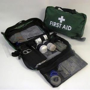 construction workplace high risk first aid kit portable soft case