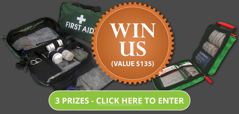 win a first aid kit sunshine coast first aid